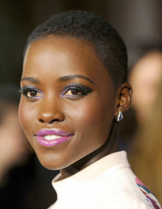 'L' is for lovely Lupita